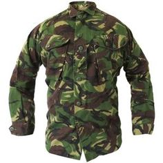 British Army DPM Shirt The British army DPM (Disruptive...
