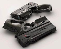 Blade Runnerish | Futuristic Weapons | Pinterest