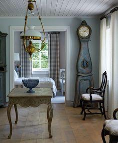 Marshall Watson Interiors design of home in Sweden. Photographer: Luke White