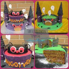 Halloween Cake ...Tutorial
