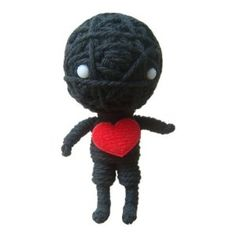 String Voodoo Doll Keychain Lonely Ghost Classic Doll Series From Thailand Free Shipping