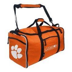 dcf1751100 Clemson Tigers Steal Duffel Bag Sam Houston