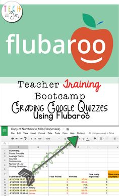Flubaroo is an awesome tool that can be used for your grading scale in the classroom. This is specific to a teacher and is a free tool that can quickly grade quizzes fast and easy. I would use this personally to make life a bit easier Google Docs, Google Google, Teaching Technology, Educational Technology, Teaching Resources, Teaching Ideas, Technology Integration, Educational Leadership, Educational Websites