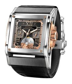 HYSEK Furtif Chronograph: Graphic Time watch