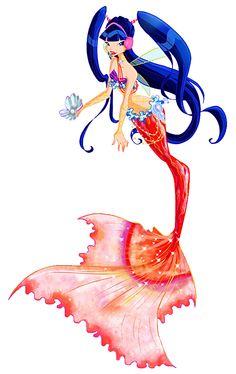 Musa as a mermaid