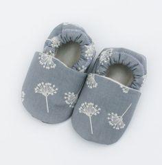 Wind Organic Cotton Dandelion Baby Shoes