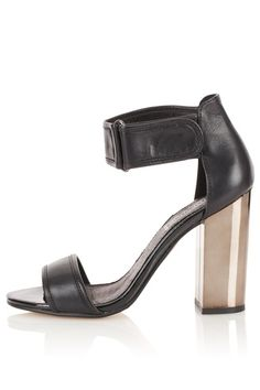 ROVER Two Part Velcro Sandals by Topshop | Shoes | Heeled | Women | Apprl - Social Shopping