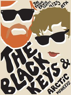 The Black Keys + The Arctic Monkeys I SAW THIS BEST DAY OF MY LIFE!!!! My friend is the black keys fan and I am the die hard arctic monkeys fan! I went 5/5/12