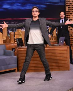 Robert Downey Jr Visits The Tonight Show Starring Jimmy Fallon Stock Pictures, Royalty-free Photos & Images Chris Pine, Chris Evans, Chris Pratt, Robert Downey Jr., I Robert, Super Secret, Iron Man Tony Stark, Marvel Actors, Downey Junior