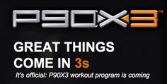 Tony Horton's #P90x3 is HERE!! Get #healthy and make your #resolutions come TRUE! #fitness