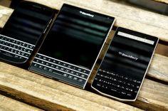 BlackBerry: Q10, Passport, Porsche Design.