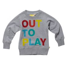 Boys, Bluza/ Out to Play Sweat Crew