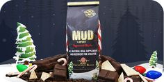 Limited Edition Seasonal Peppermint Mocha MUD  Get in the holiday spirit with a creamy mug of delicious naturally flavored Peppermint Mocha MUD! Same festive flavor as the cafe's decadent latte with all the added goodness of ultra pure whey protein and omega-3 rich flax seed.