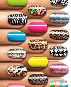 Nail Art / nail stickers...use these all the time!