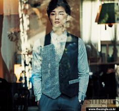 Yoon Si Yoon - Singles Magazine February Issue '12
