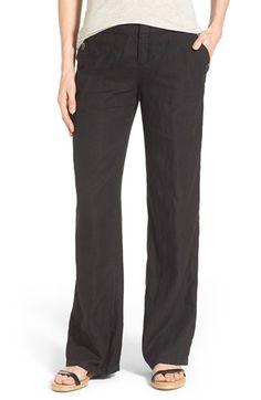 Caslon® Linen Sailor Pants (Regular & Petite) available at #Nordstrom