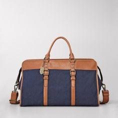 beautiful 'weekender' bag! by catalina