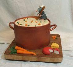 Торт для вечеринки Рататуй. Мастерская Волшебных Событий