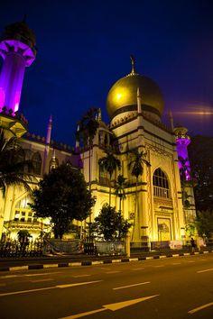 Sultans Mosque in Singapore