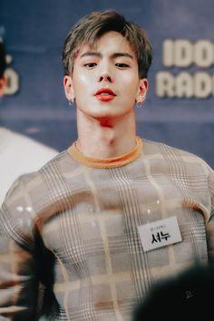 Shownu (Monsta X) 190226 idol radio Jooheon, Hyungwon, Yoo Kihyun, Minhyuk, Monsta X Wonho, Extended Play, Kpop, Starship Entertainment, Asian Boys