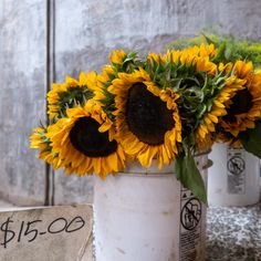 Mill City Farmers Market, Minneapolis Downtown, Sunflowers, Table Decorations, Marketing, Sunflower Seeds