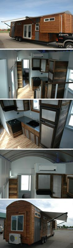 Nampa house, a 320 sq ft tiny house on wheels