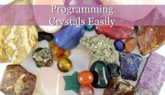 #spirituality   #spiritualawakening   #spiritualgrowth  #crystals #healingcrystals #crystalhealing This way of Programming Crystals Easily will teach you how to tell your crystal what to help you with, giving your crystal an intention a specified purpose.