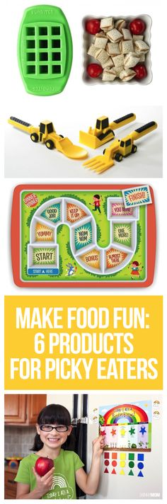 Make your kids' food more fun with these cool new products