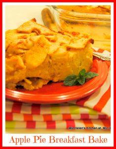 Apple Pie Breakfast Bake at Miz Helen's Country Cottage