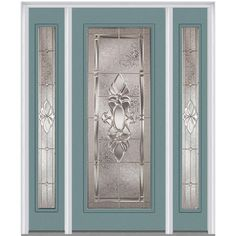 Milliken Millwork 6 Front Door Entrance, Entry Doors, Entrance Ideas, Front Doors, Glass Design, Door Design, Decorative Hinges, Decorative Glass, Prehung Doors