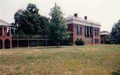 Bremo - VA Southern Mansions, Virginia History, Living Etc, Virginia Homes, Plantation Homes, Facade House, Southern Living, Historic Homes, Victorian Homes