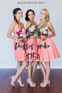 Shop from a variety of Coral bridesmaid dresses & gowns at Weddington Way. Mix and match your bridesmaids in different styles . Coral Bridesmaid Dresses, Wedding Dresses, Coral Weddings, Coral Pink, Different Styles, Gowns, Shopping, Color, Fashion