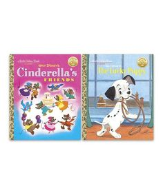 This Disney Classic Little Golden Book Hardcover Set is perfect! #zulilyfinds