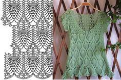blusas em croche com gráficos, patrones, patterns,paleras,batas, blusas, blusas em croche, túnicas, túnicas em croche, paps de croche, croche paps, passo a passo em croche,blusas em croche mangas , receitas croche, revistas de croche, croche, roupas em croche, linhas de croche, boleros, casacos, camisas, calças, saias,blusa ana maria braga