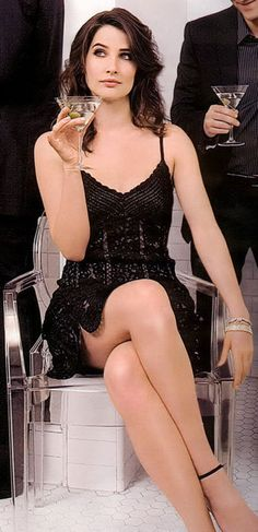 Cobie Smulders. Love her with a passion that defies logic and reason. Maybe not.