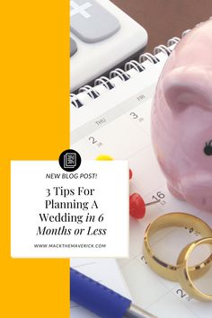 These 3 wedding tips will save you time, money, and lots of headaches. Wedding Tips, Our Wedding, Wedding Planning, News Blog, Save Yourself, 6 Months, Money, How To Plan, Marriage Tips