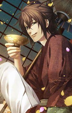 Oni Demon, Bishounen, Manga Pages, Handsome Anime, Touken Ranbu, Itachi, Shoujo, Anime Love, Creative Art