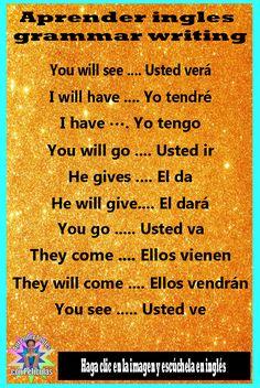 Learning Spanish For Kids, Spanish Language Learning, Teaching Spanish, English Language, Spanish Grammar, Spanish Words, How To Speak Spanish, Learn Spanish, English Tips
