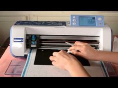 Exploring the Scan-to-Cut cutting Felt with Liz Hicks - YouTube