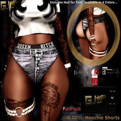.:::G.ID:::. Hoochie Shorts