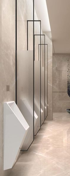 Contemporary Bathroom Interior Design nor Bathroom Vanities For Vessel Sinks our Bathroom Remodel Labor Cost another Bathroom Cabinets Lexington Ky. Bathroom Stall, Office Bathroom, Bathroom Toilets, Bathroom Layout, Bathroom Flooring, Modern Bathroom, Small Bathroom, Bathroom Art, Bathroom Ideas
