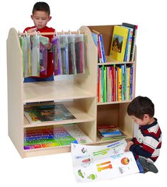 Multi Book Storage Center from Honor Roll Childcare Supply.