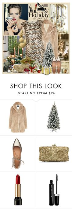 """Holiday Party"" by dgia ❤ liked on Polyvore featuring beauty, Coast, Sigerson Morrison, Lancôme, Marc Jacobs and L'Oréal Paris"