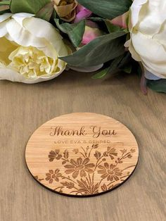 Engraved Coasters Personalized Coasters Personalized coaster set coaster wedding favors 038 Wood Coasters engraved Custom Coasters