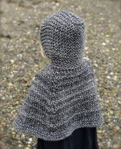 Ravelry: Bairn Cape pattern by Heidi May