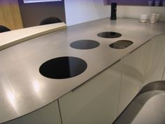 ABK i-Cooking induction in ABK 4mm stainless steel available from www.resource-agencies.eu