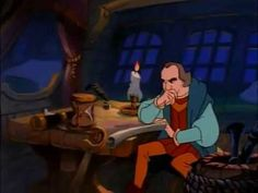 The Story of a Christopher Columbus in cartoon film, the story of a man who founds new world.
