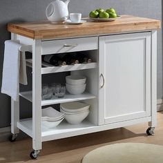 4 Mobile Islands For Small Kitchens I Love My Kitchen Pinterest
