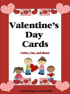 Free Valentine's Day Cards~ Great for students who can not afford Valentine's Day Cards for the class party!