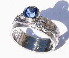 blue by susan west. modern design for the modern bride. www.bluegoldsmiths.com…